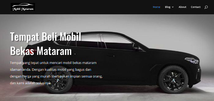 website untuk digital marketing bisnis otomotif